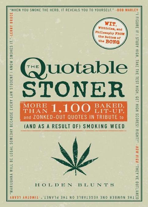 The Quotable Stoner EB9781440527326