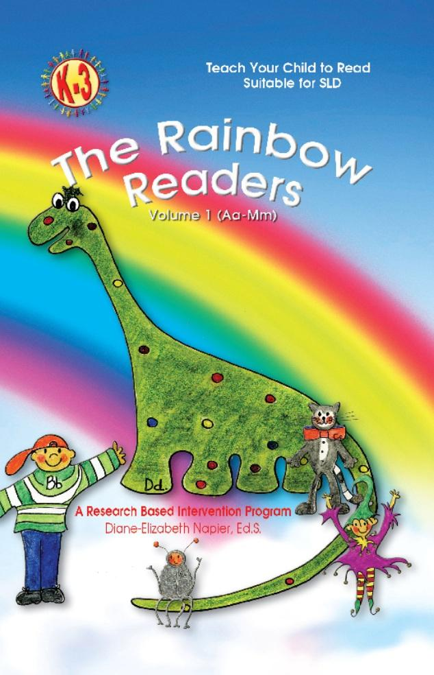 The Rainbow Reader Vol. 1 (Aa-Mm): A Research Based Intervention Program EB9781618970961