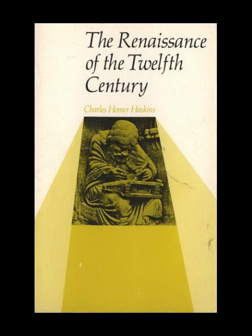 The Renaissance of the Twelfth Century EB9781597408479