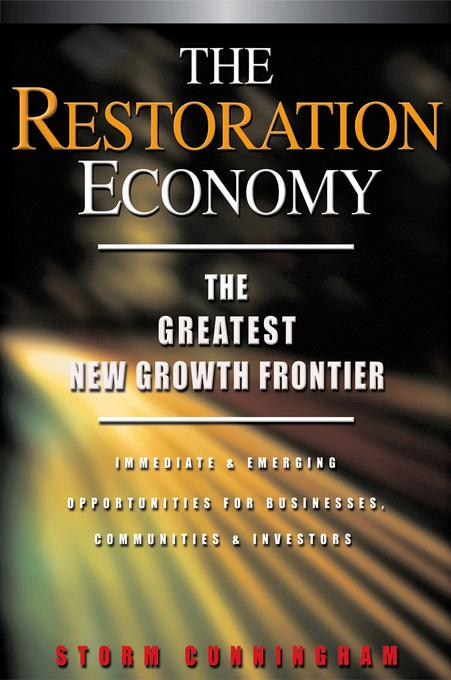 The Restoration Economy EB9781605096490
