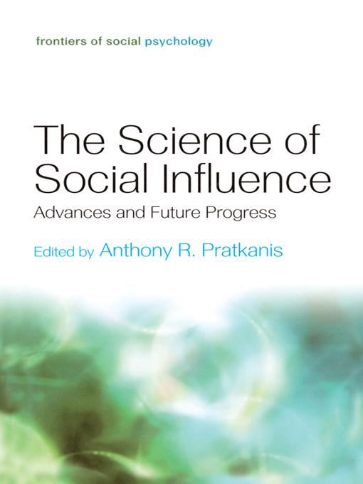 The Science of Social Influence EB9781136737039