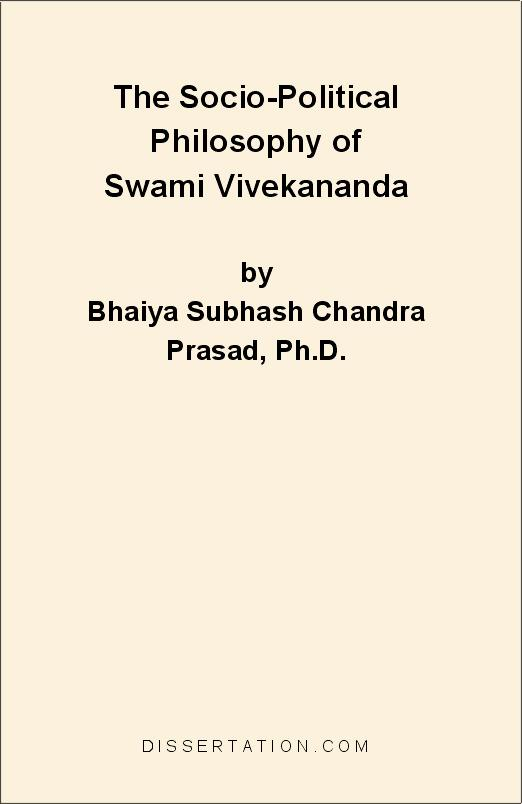 The Socio-Political Philosophy of Swami Vivekananda EB9781599420752