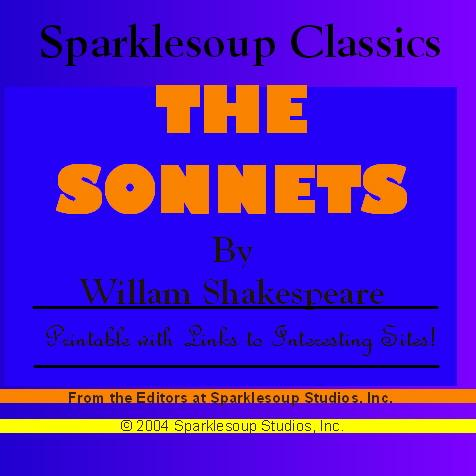 The Sonnets (Sparklesoup Classics) EB9781597487375