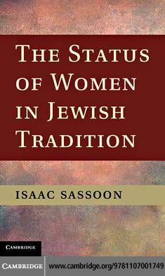 The Status of Women in Jewish Tradition EB9781139036849
