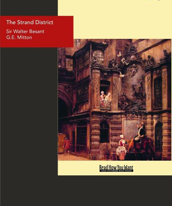 The Strand District: The Fascination of London EB9781458702173
