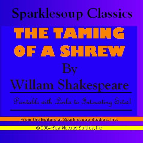 The Taming of a Shrew  (Sparklesoup Classics) EB9781597487382