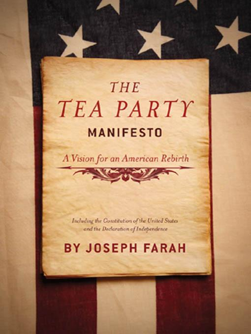 The Tea Party Manifesto EB9781935071495
