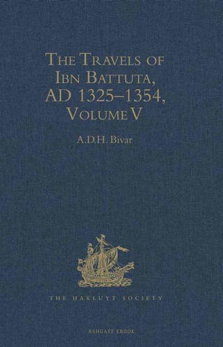 The Travels of Ibn Battuta: Volume V: Index EB9781409433743