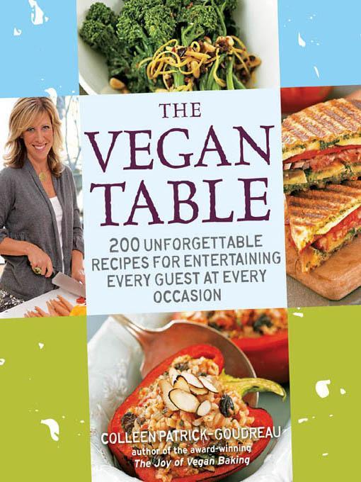 The Vegan Table EB9781616734497