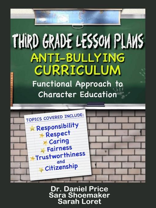 Third Grade Lesson Plans: Anti-bullying Curriculum EB9781619840904