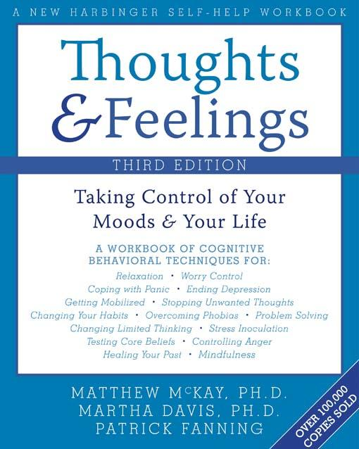 Thoughts and Feelings:Taking Control of Your Moods and Your Life EB9781572246843