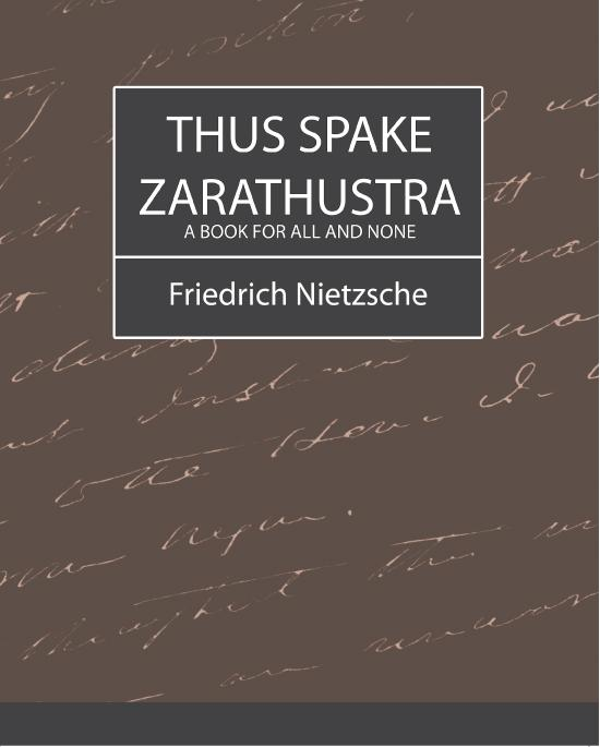 Thus Spake Zarathustra EB9781438553603