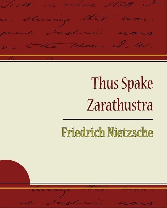 Thus Spake Zarathustra - Friedrich Nietzsche EB9781438557526