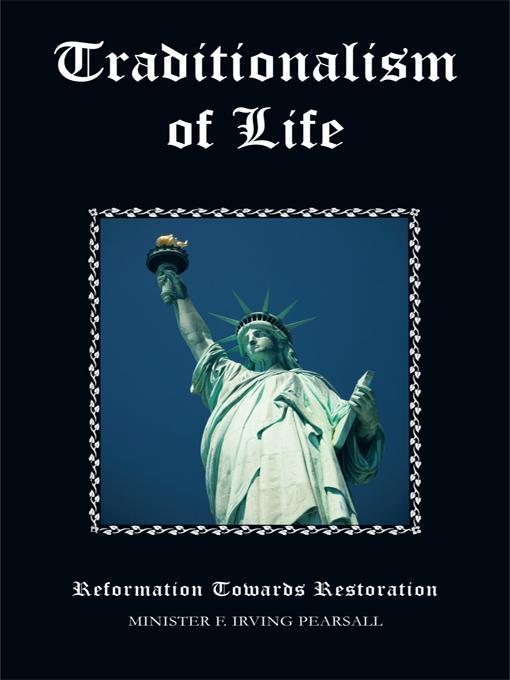 Traditionalism of Life: Reformation Towards Restoration EB9781426954801