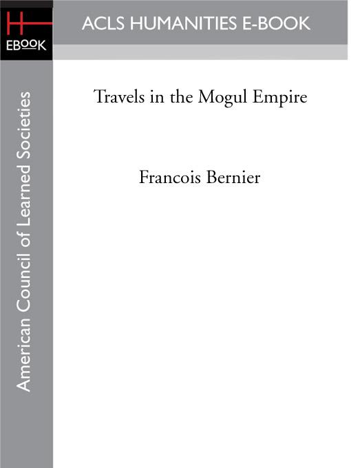 Travels in the Mogul Empire EB9781597408493