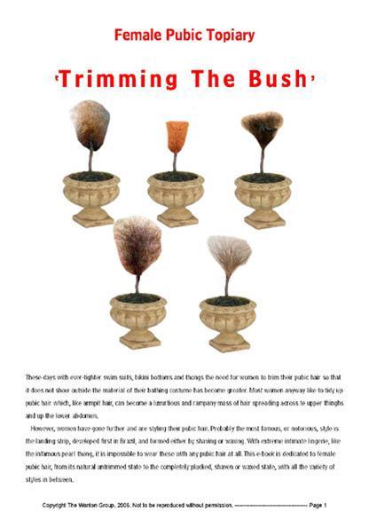 Trimming The Bush EB9781905152179