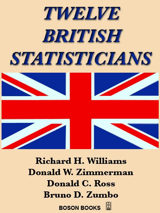Twelve British Statisticians EB9781932482447
