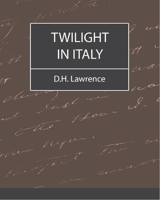 Twilight in Italy EB9781438554235