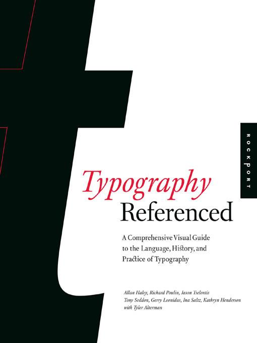 Typography, Referenced EB9781610582056