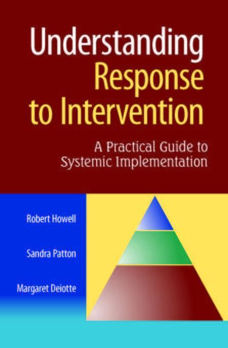 Understanding Response to Intervention EB9781934009802