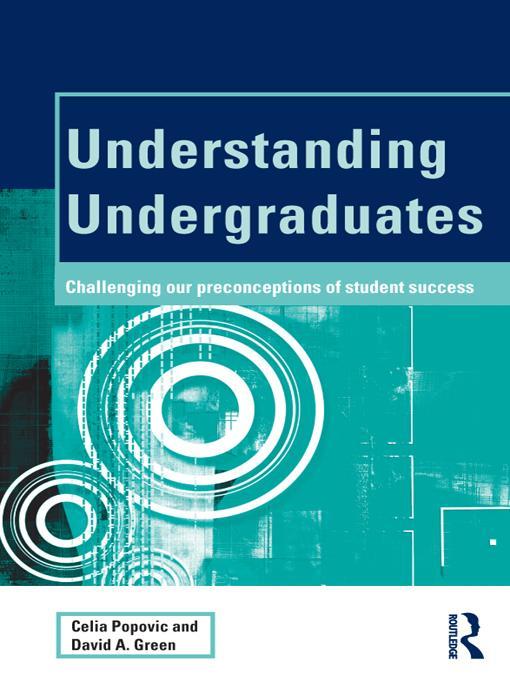 Understanding Undergraduates EB9781136725418
