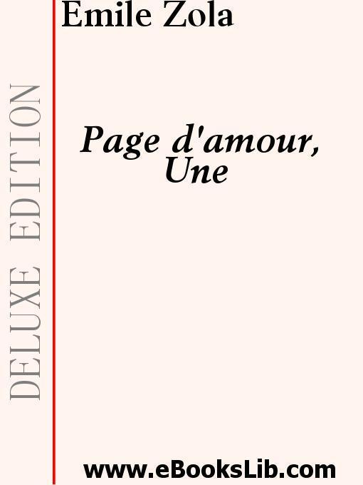 Une Page d'amour EB9781897124925