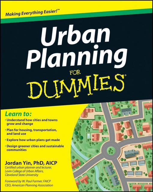 Urban Planning For Dummies EB9781118101674