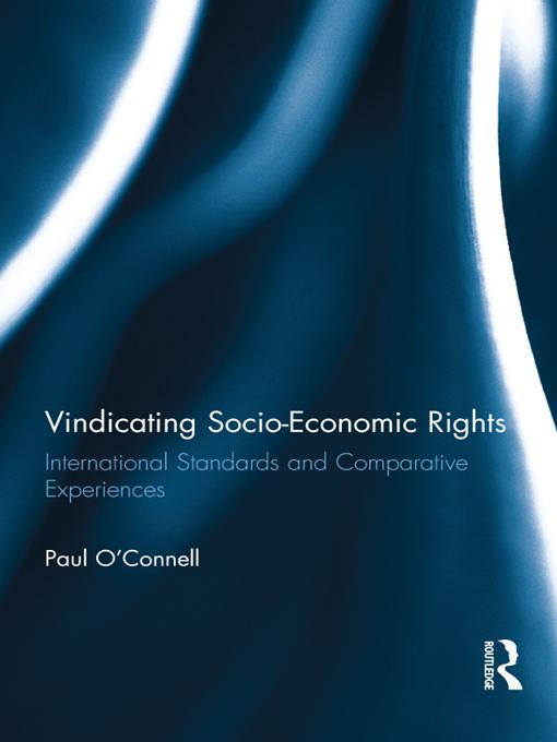 Vindicating Socio-Economic Rights EB9781136457531