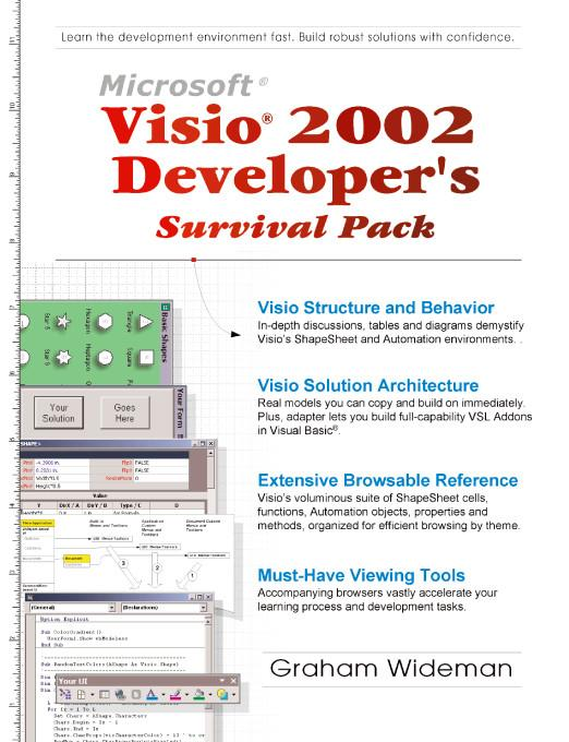 Visio 2002 Developer's Survival Pack EB9781412243179