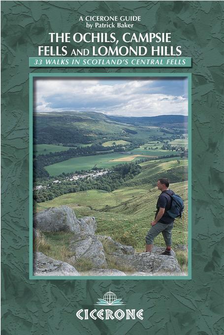 Walking in the Ochils, Campsie Fells and Lomond Hills: 33 Walks in Scotland's central fells EB9781849651103