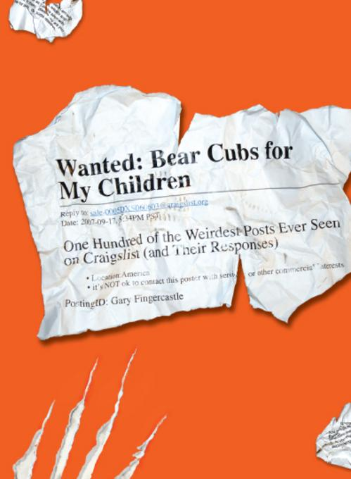 Wanted - Bear Cubs for My Children EB9781440504518