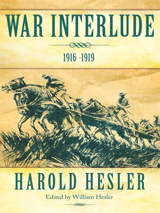 War Interlude 1916 -1919 EB9781462003549
