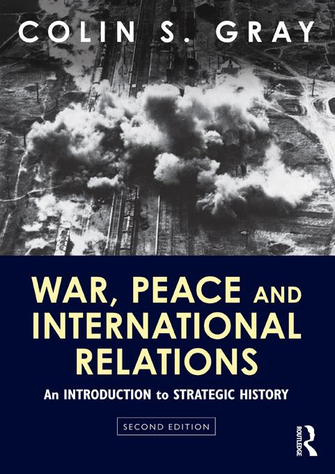 War, Peace and International Relations EB9781136588617