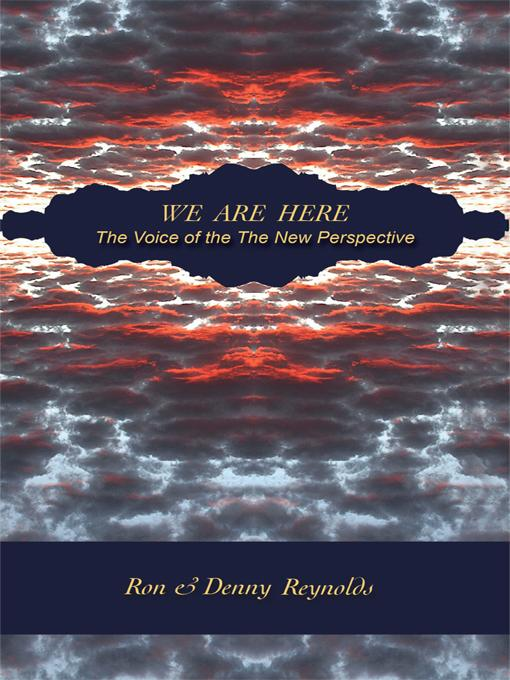 We Are Here: The Voice of the New Perspective EB9781426933363