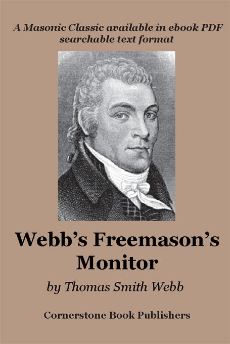 Webb's Freemason's Monitor EB9781887560573