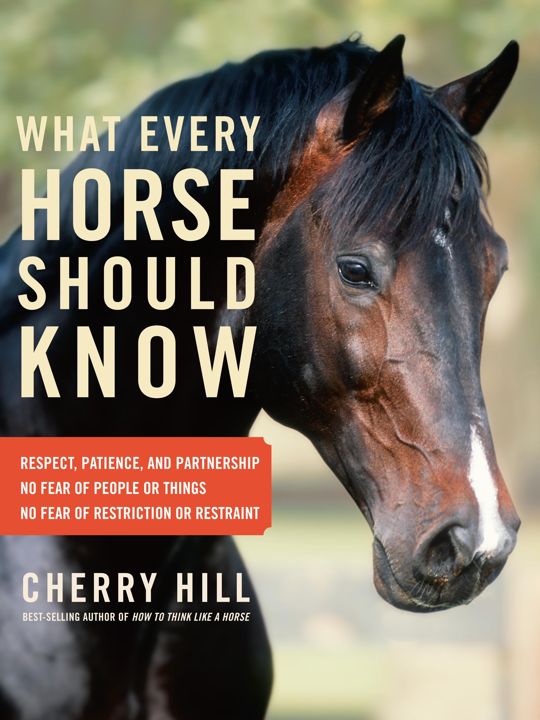 What Every Horse Should Know: Respect, Patience, and Partnership, No Fear of People or Things, No Fear of Restriction or Restraint EB9781603427548