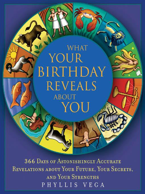 What Your Birthday Reveals About You EB9781616734091