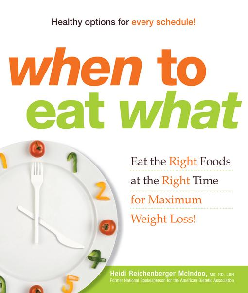 When to Eat What EB9781440510700