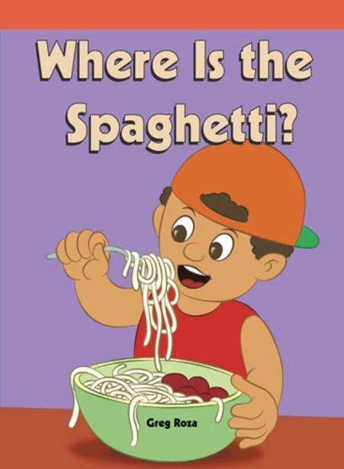 Where's the Spaghetti? EB9781448835935