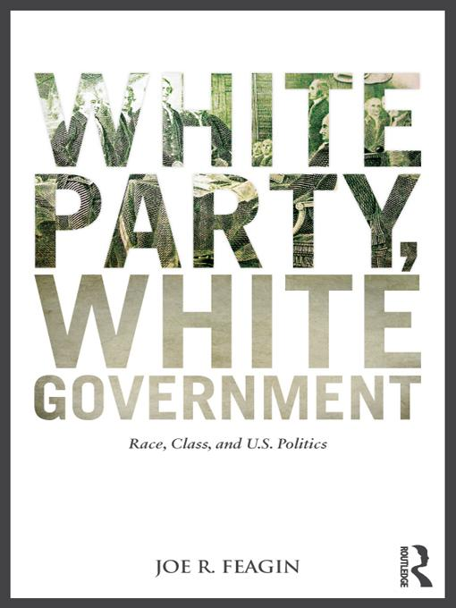 White Party, White Government EB9781136332623