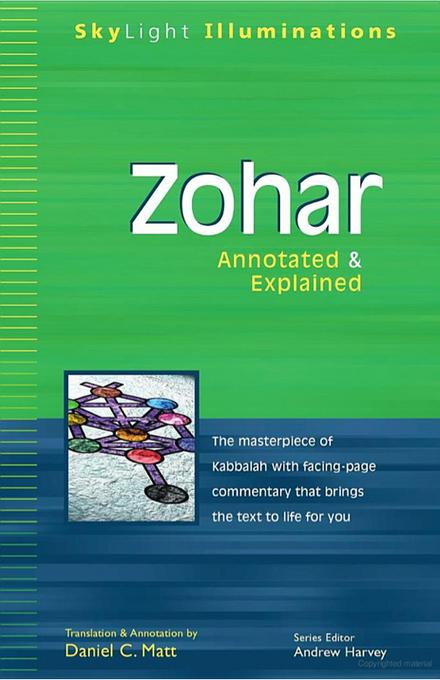 Zohar: Annotated & Explained EB9781594733581