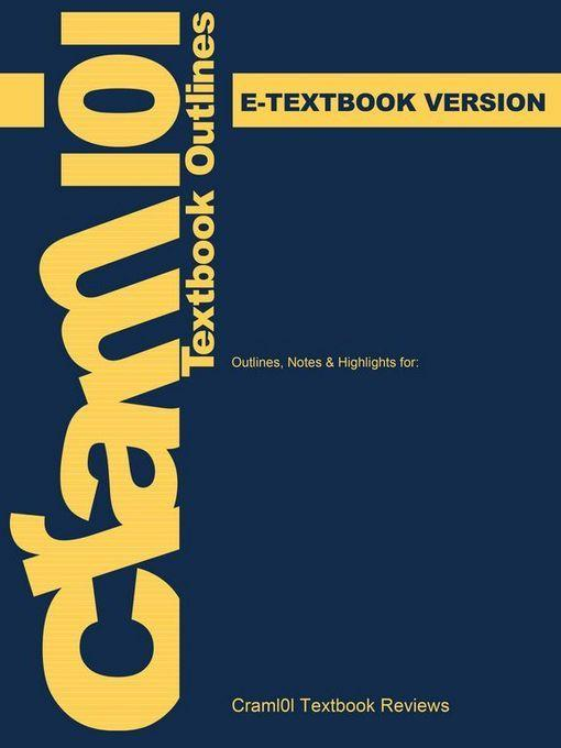 e-Study Guide for: Community Organizing and Development by Herbert J. Rubin, ISBN 9780205408139 EB9781467295161