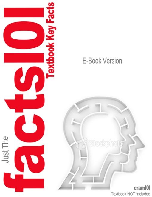 e-Study Guide for: Criminal Procedure by Marvin Zalman, ISBN 9780132457613 EB9781478400899