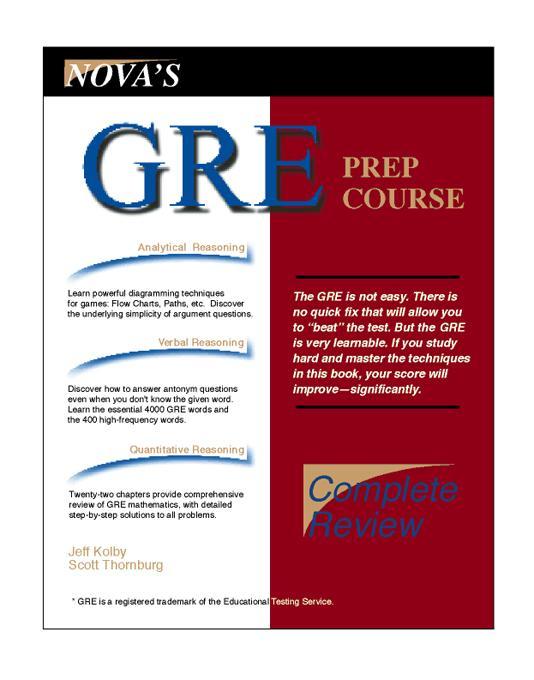gre prep course EB9781889057170