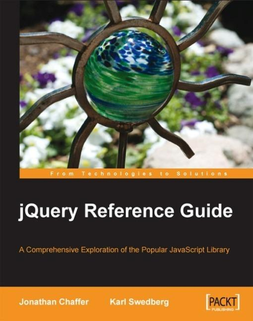 jQuery Reference Guide EB9781847193827