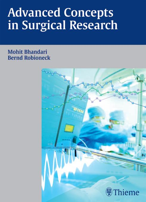 Advanced Concepts in Surgical Research EB9783131670212