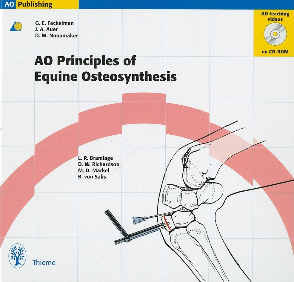 Principles of Equine Osteosynthesis: Book & CD-ROM EB9783131646910