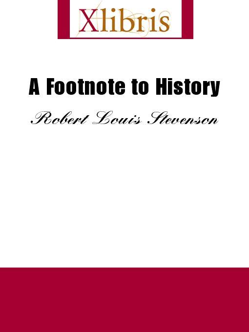 A Footnote to History EB9785551068259