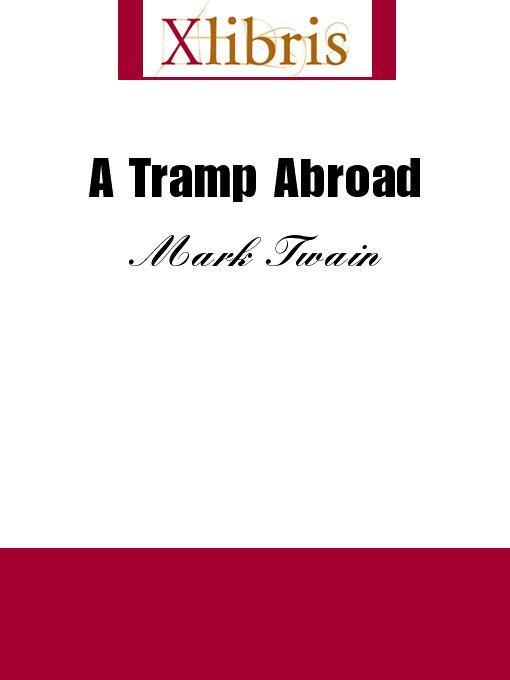 A Tramp Abroad EB9785551067634