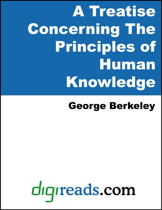 A Treatise Concerning the Principles of Human Knowledge EB9785551332114